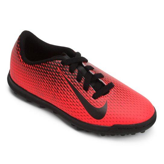 dbb22f13a0 Chuteira Society Infantil Nike Bravata 2 TF - Preto