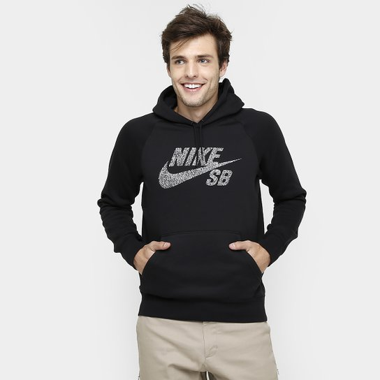 83329e60a7 Moletom Nike SB Icon Dots Po c  Capuz - Compre Agora