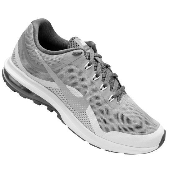 Tênis Nike Air Max Dynasty 2 Feminino - Cinza e Branco - Compre ... edf95f85f9732