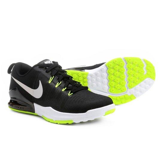 392bcd5dc2 Tênis Nike Zoom Train Action Masculino - Preto+Verde Limão