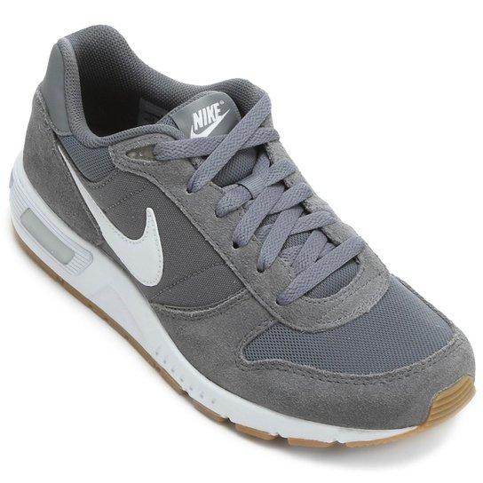 22739f44902 Tênis Nike Nightgazer Masculino - Cinza e Branco - Compre Agora ...
