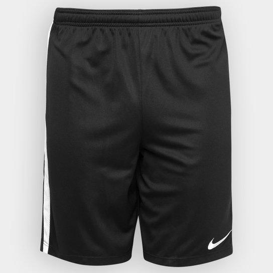 Calção Nike Dry Academy Masculino - Preto e Branco - Compre Agora ... a97b000e48efd