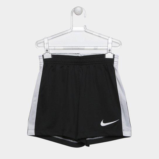 Calção Infantil Nike Dry Academy - Preto e Branco - Compre Agora ... e25c9f2926c1d