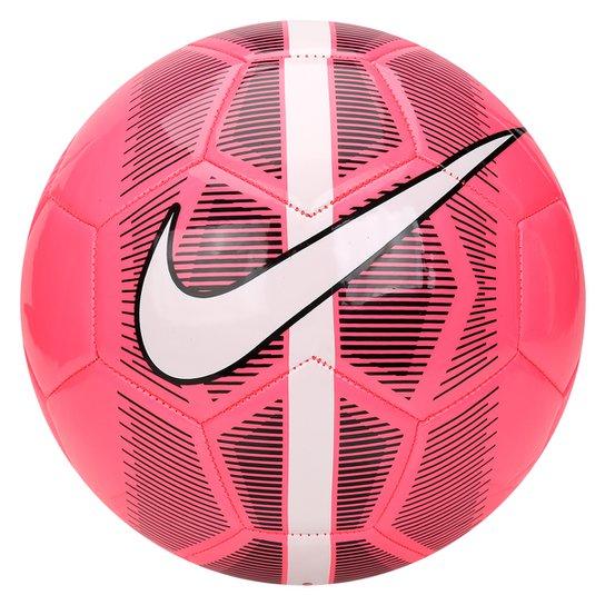Bola Futebol Campo Nike Mercurial Fade - Rosa e Branco - Compre ... 44dd98bb683bb