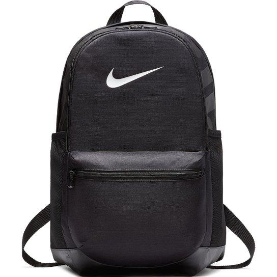 Mochila Nike Brasília - Preto e Branco - Compre Agora  17f5d60141707
