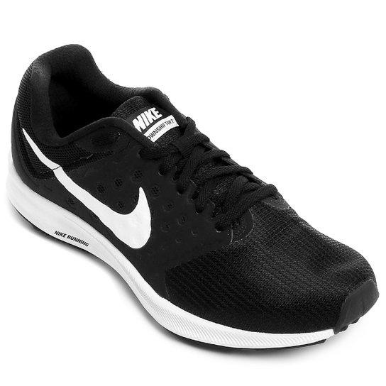1776ceafe33 Tênis Nike Downshifter 7 Feminino - Preto e Branco - Compre Agora ...
