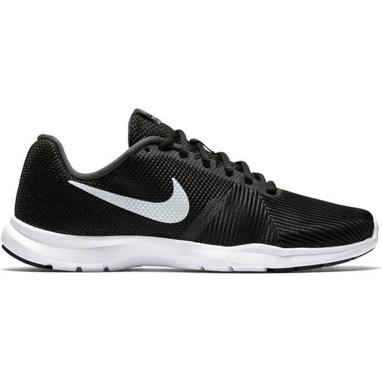 3e83a37f0c Tênis Nike Flex Bijoux Feminino - Preto e Branco - Compre Agora ...