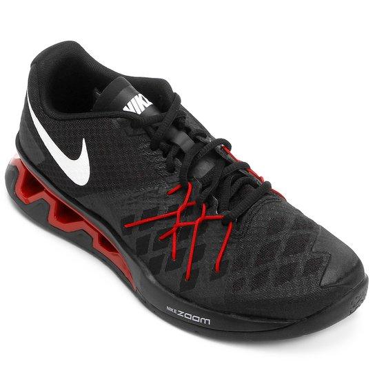 626409070bc Tênis Nike Reax Lightspeed 2 Masculino - Preto e Vermelho - Compre ...