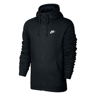 516ec06882 Moletom Nike Nsw Hoodie Fz Flc Club Masculino