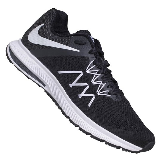 315efb3c43 Tênis Nike Zoom Winflo 3 - Preto+Branco