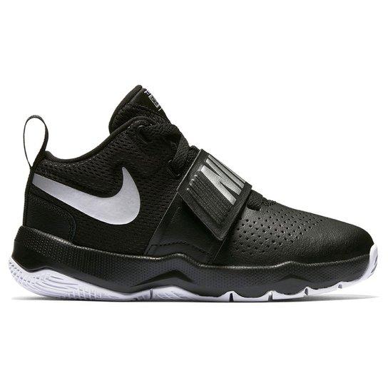Tênis Infantil Nike Team Hustle D 8 Masculino - Preto e Branco ... 1b855df1ca724