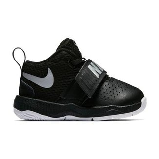 d642937e0e4 Tênis Infantil Couro Nike Team Hustle D Masculino