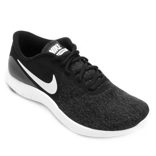 fd9f7ddb9 Tênis Nike Flex Contact Feminino - Preto e Grafite - Compre Agora ...