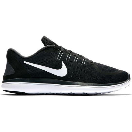 ed32be7a6 Tênis Nike Flex Run Masculino - Preto+Branco