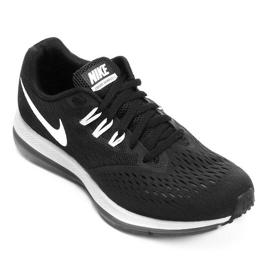 5a5b359fb5 Tênis Nike Zoom Winflo 4 Feminino - Preto e Branco - Compre Agora ...