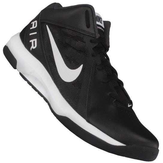 0b115c118e Tênis Nike The Air Overplay IX - Preto+Branco