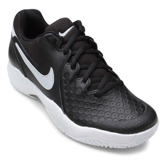 8bde6c0f324 Tênis Nike Air Zoom Couro Resistance Masculino - Preto e Branco ...
