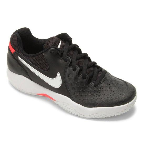 0a52c3e0181 Tênis Nike Air Zoom Couro Resistance Masculino - Preto e Gelo ...