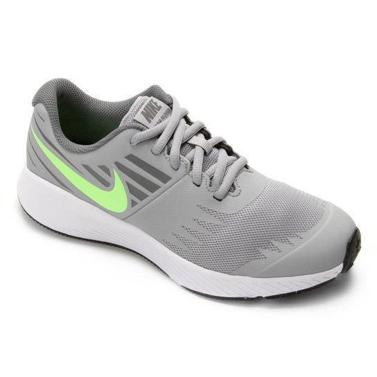 90fdcedf40e Tênis Infantil Nike Star Runner GS - Cinza e Branco - Compre Agora ...