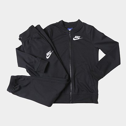 Agasalho Infantil Nike Sportswear Track Suit Feminino