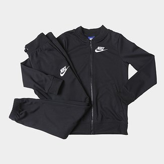 e184f89cec Agasalho Infantil Nike Sportswear Track Suit Feminino