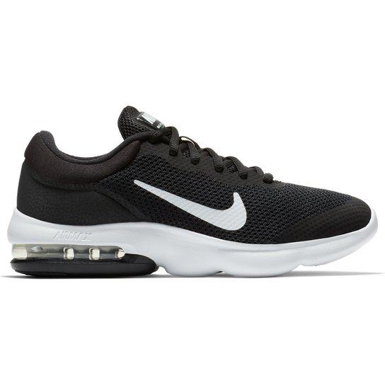 2fa7835ce Tênis Nike Air Max Advantage Feminino - Preto e Branco - Compre ...