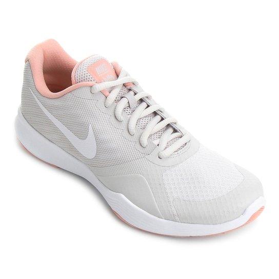 Tênis Nike City Trainer Feminino - Cinza e Branco - Compre Agora ... 89cd997ed548c