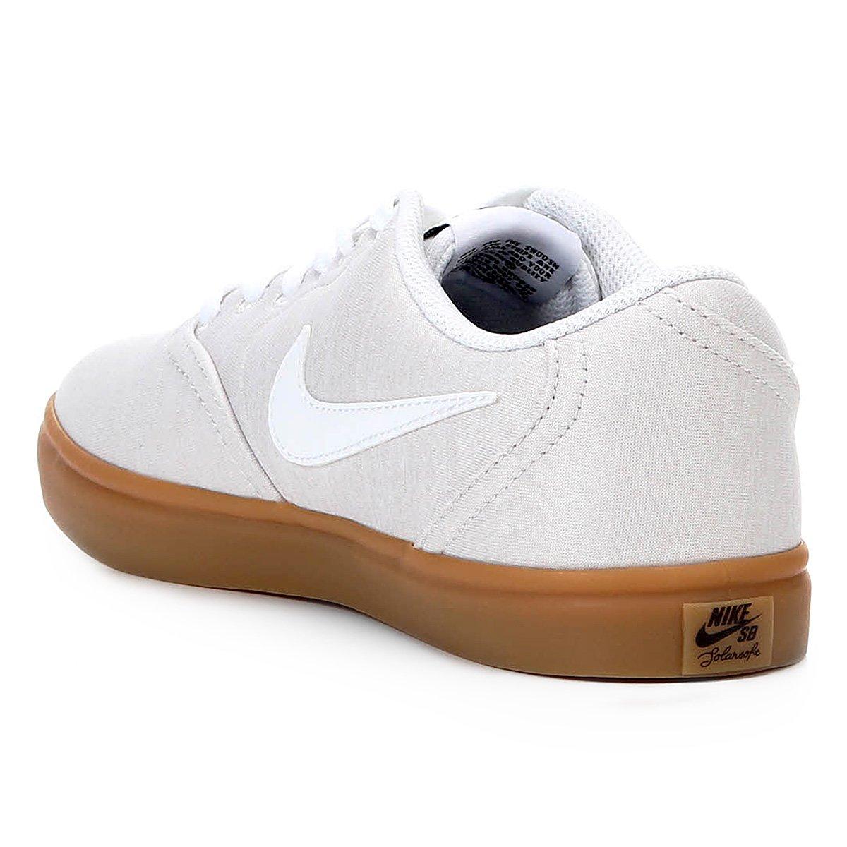 c52da75e40625 Tênis Nike Wmns Sb Check Solar Cvs P Feminino - Tam: 39 - Shopping ...