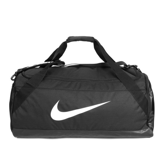 Bolsa De Viagem Da Nike Feminina : Bolsa nike brsla preto e branco