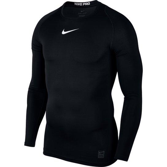 Camiseta Compressão Nike Pro Manga Longa Masculina - Compre Agora ... 31f6b82bc61f9