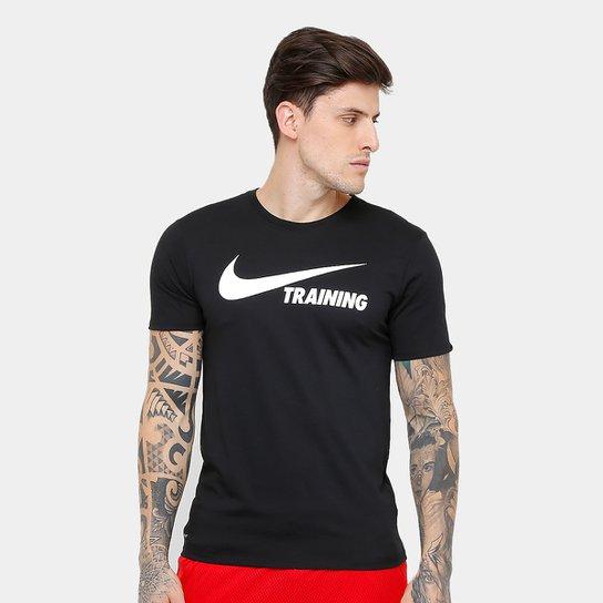 Camiseta Nike Training Swoosh Masculina - Compre Agora  37d94c28d7f44