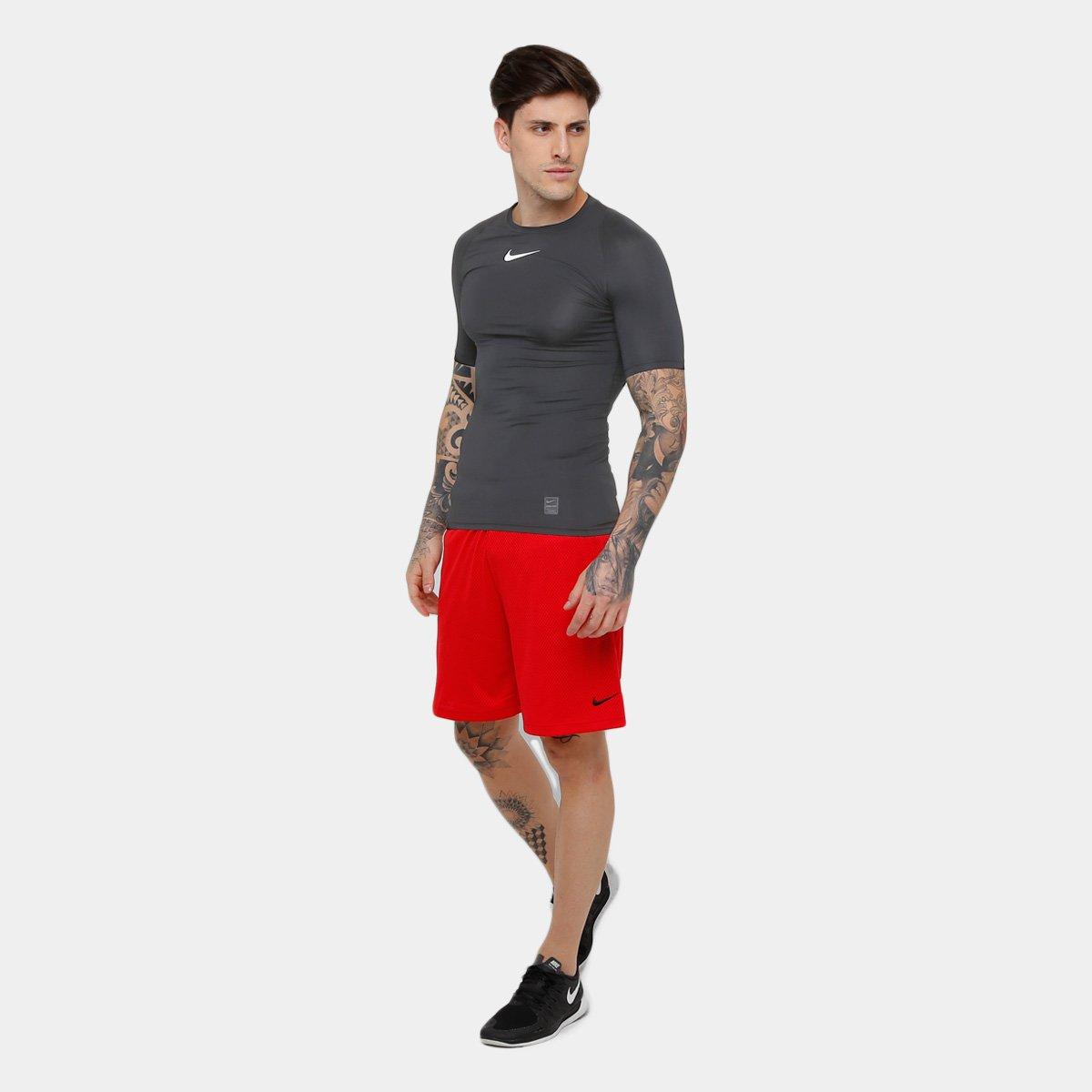 2a0224ba1e2a0 Camiseta Compressão Nike Pro Masculina - Shopping TudoAzul