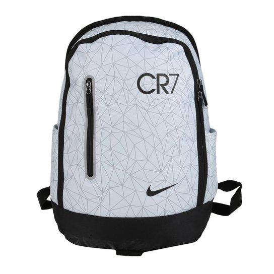 6fc324edc Mochila Nike CR7 Football - Preto+Branco