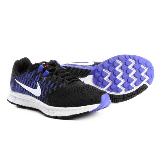 f71c214715 Tênis Nike Zoom Span 2 Feminino - Preto e Azul - Compre Agora
