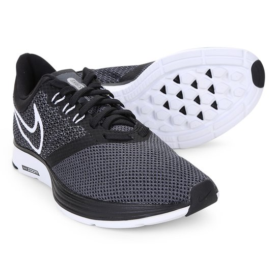 88ead30d93444 Tênis Nike Zoom Strike Feminino - Preto+Branco