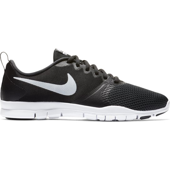 2d0b218895a Tênis Nike Flex Essential TR Feminino - Preto e Branco - Compre ...