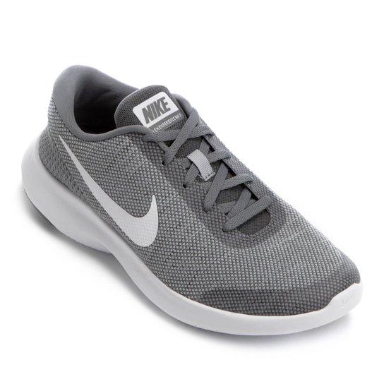0e3b81a289246 Tênis Nike Flex Experience RN 7 Feminino - Cinza e Branco - Compre ...