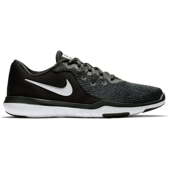 687ef8aeed Tênis Nike Flex Supreme TR 6 Feminino - Preto e Branco - Compre ...