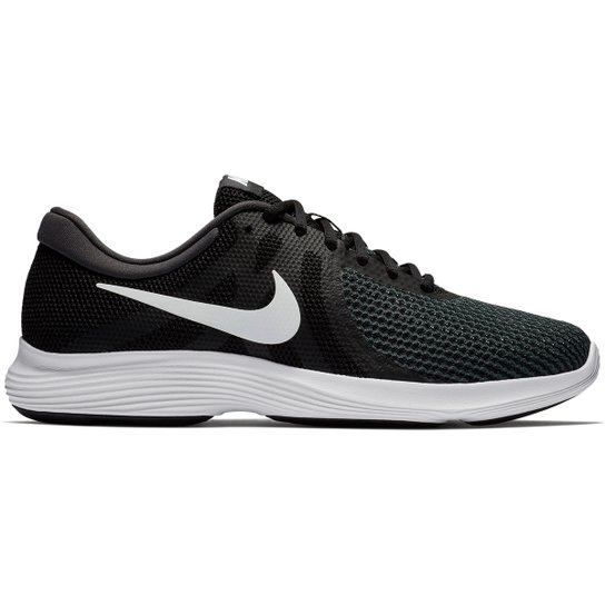 e3c43351b Tênis Nike Revolution 4 Masculino - Preto e Branco - Compre Agora ...
