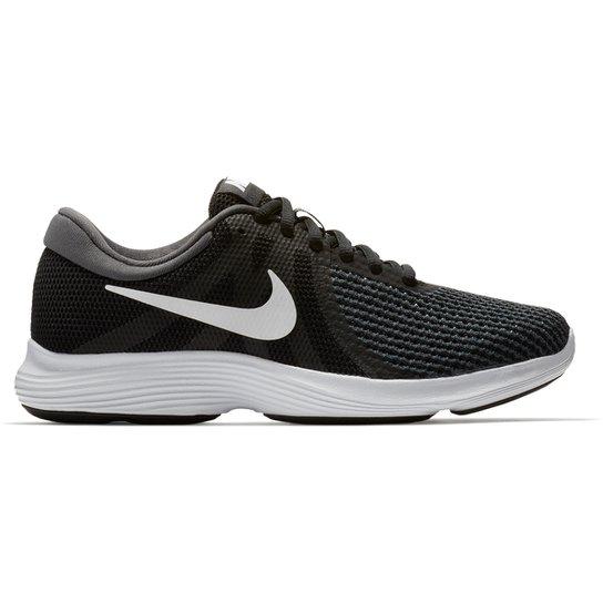 ea23b3165 Tênis Nike Wmns Revolution 4 Feminino - Preto e Branco - Compre ...