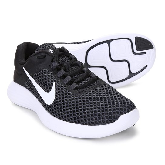 ccb2dc504 Tênis Nike Lunarconverge 2 Feminino - Preto e Branco | Netshoes