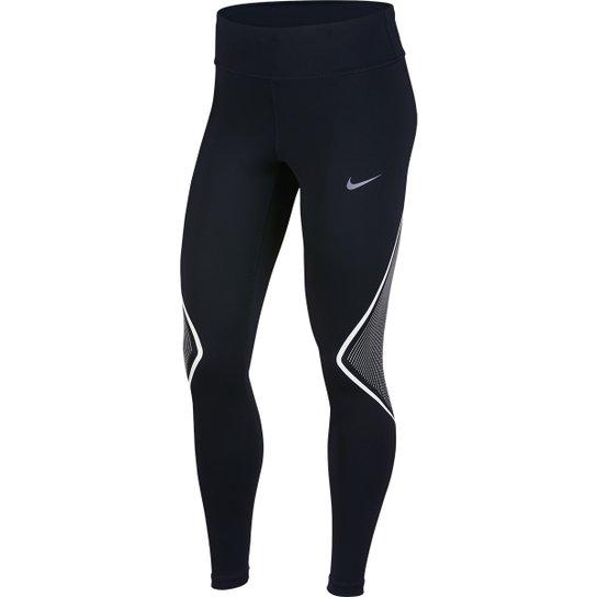 Calça Nike Power Tight Fast Graphic Feminina - Compre Agora  3671f49bc1f26