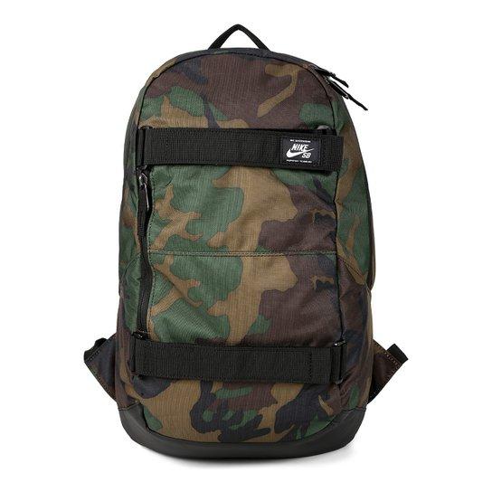 8be37033d Mochila Nike SB Crths Bkpk Aop - Verde Militar