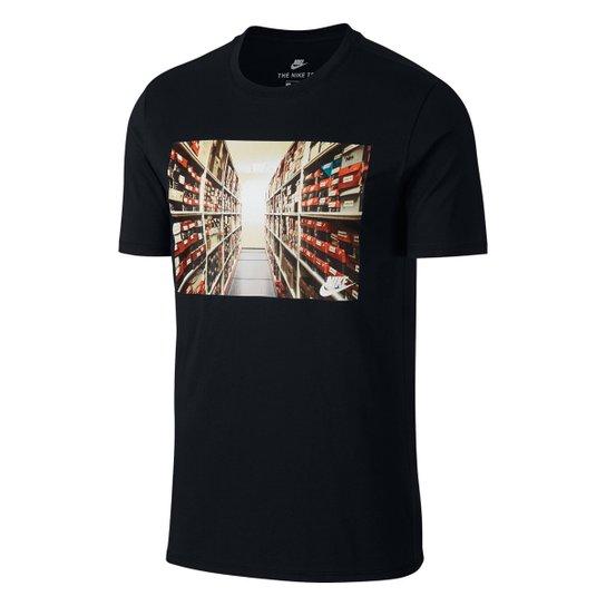 a5b4961ded538 Camiseta Nike Photo Red Masculina - Compre Agora
