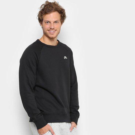 Moletom Nike Sb Icon Crew Fleece Masculino - Compre Agora  36e70a7f227