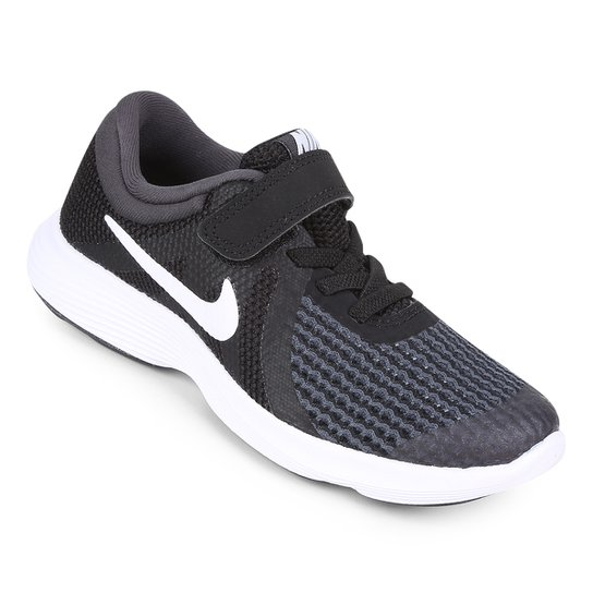 d29329d31 Tênis Infantil Nike Revolution 4 Masculino - Preto e Branco - Compre ...