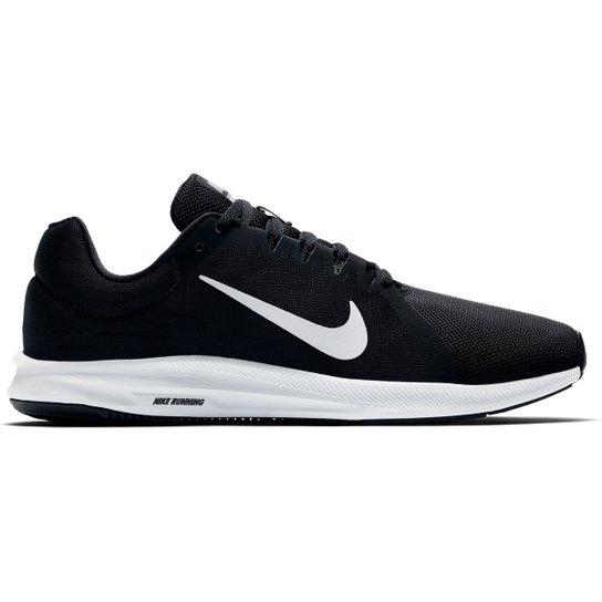 ea3fc8b27d Tênis Nike Downshifter 8 Masculino - Preto e Branco - Compre Agora ...