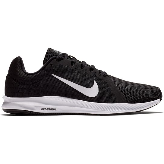 1e451097 Tênis Nike Wmns Downshifter 8 Feminino - Preto e Branco | Netshoes