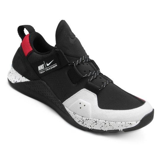 Tênis Nike Tech Trainer Masculino - Preto e Branco - Compre Agora ... 40a07cca4a381