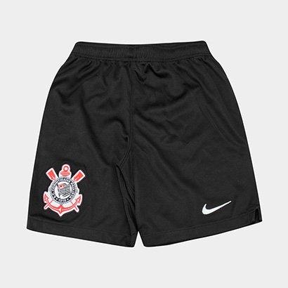 Calção Infantil Corinthians Nike